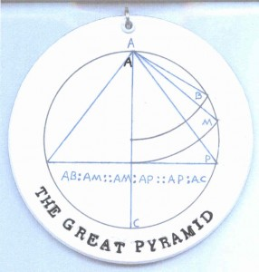 GREAT PYRAMID PROPORTION