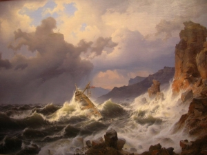 TEMPEST OFF THE FINLAND COAST (1837) _image